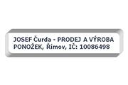 Josef Čurda - Výroba a prodej ponožek logo