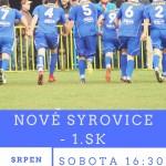 1.SK zajíždí do Syrovic