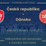 3. ČERVENCE – ČESKÁ REPUBLIKA VERSUS DÁNSKO